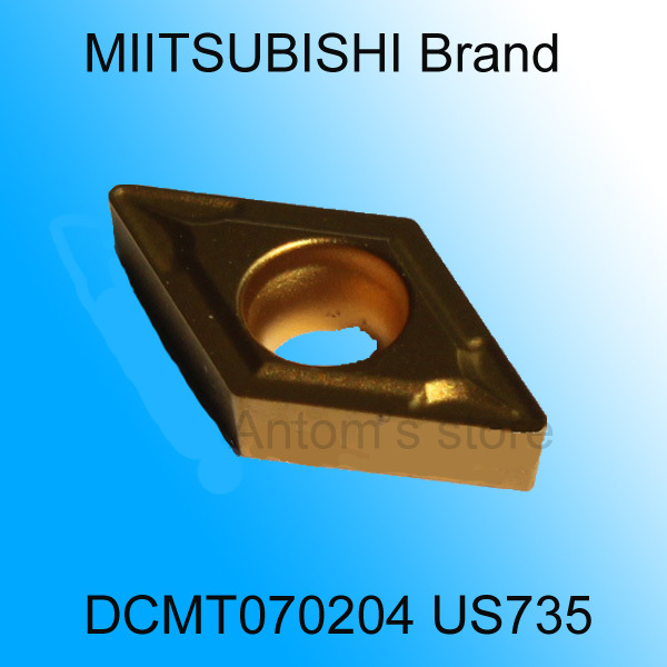 Factory MITSUBISHI cutting blade DCMT070204 US735 turning tip,Suitable SDJCR/SDNCN/SDQCR Series Lathe Tool Holder - Antom Yuan's store