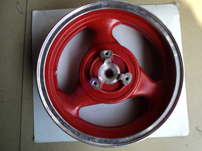 Motorcycle bikes r9 rim size of aluminum alloy disc after the rim ring 120 - 70 - 12 Universal free shipping(China (Mainland))