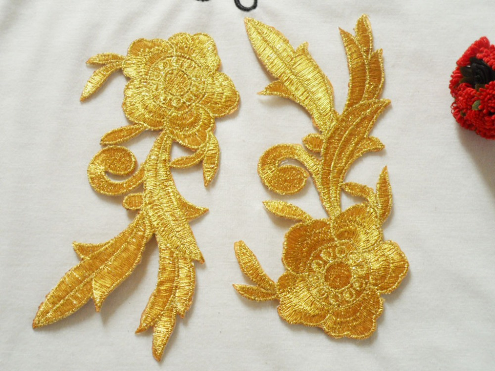 Buy embroidery flower embroidered cosplay fabric applique