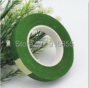 12mm Paper Tape Dark green Nylon Stocking Flower Butterfly Accessories DIY Handmade - Kang Yu Jewelry accessories firm store