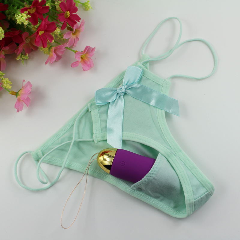 sweetheart lover Gift Vibrating thongs Vibrator panty Knicker Vibrator Underwear c-string invisible secret sex panties for woman(China (Mainland))