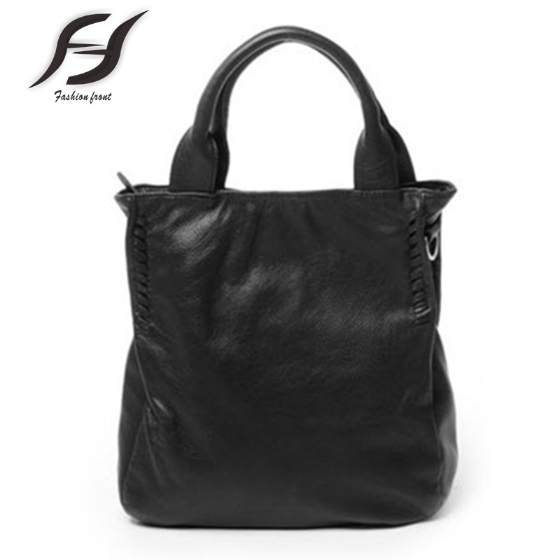 Hot Women Messenger Bags Large Capacity Shoulder Bags For Women First Layer Cowhide Leather Handbag High Quality Women Bags Tote