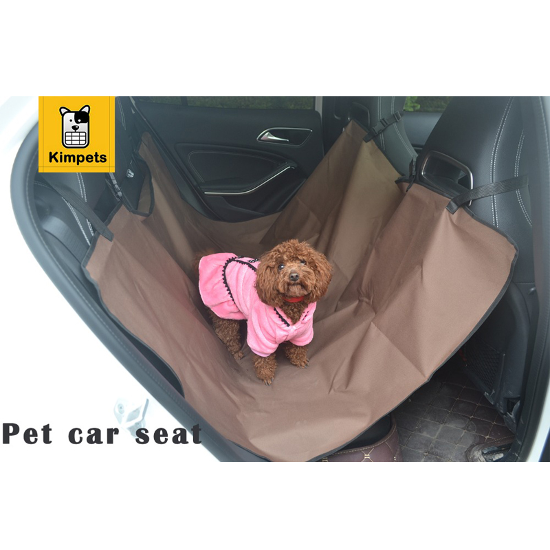 Pet Dog Cat Rear Back Seat Washable Waterproof Pet Dog Cat Safe Safety Travel Hammock Car Bed Seat Cover(China (Mainland))