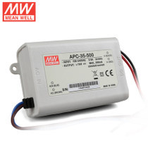 Authentic Taiwan mean well power supply APC-35 350-1050ma 20w 30w LED driver waterproof IP65(China (Mainland))