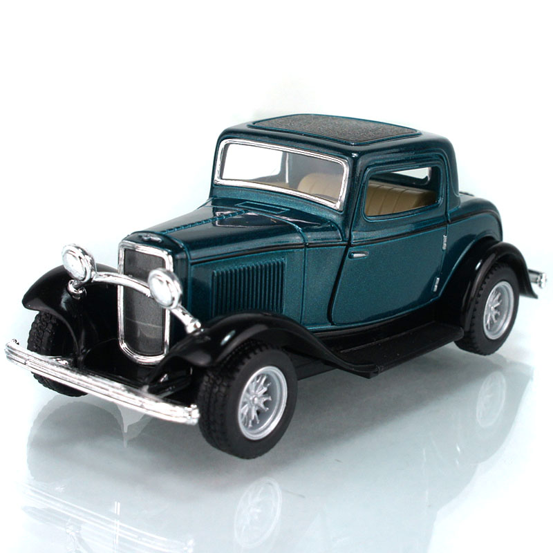 Free shipping Kinsmart FORD soft world archaists 1932 3window coupe sedan model alloy WARRIOR toys Wholesale PX0906(China (Mainland))