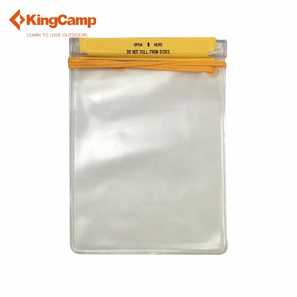 KingCamp Waterproof Storage Bag Protects Phones, Cash, Documents From Water, Sand, Dust and dirt, Ideal For Beach, Fishing, Hiki(China (Mainland))