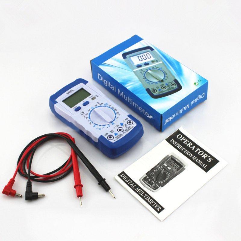 DMM Digital Multimeter Ammeter Multitester Voltmeter Megohmmeter Ohmmeter HFE Current Tester Free Shipping