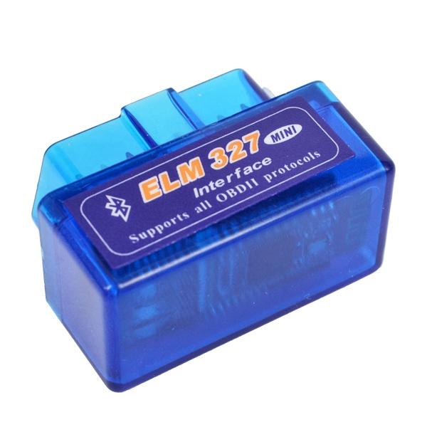 Mini V2.1 ELM327 OBD2 Bluetooth Interface Car Auto Bluetooth OBD II OBDII ELM 327 Diagnostic Scanner Tool For Android Torque(China (Mainland))