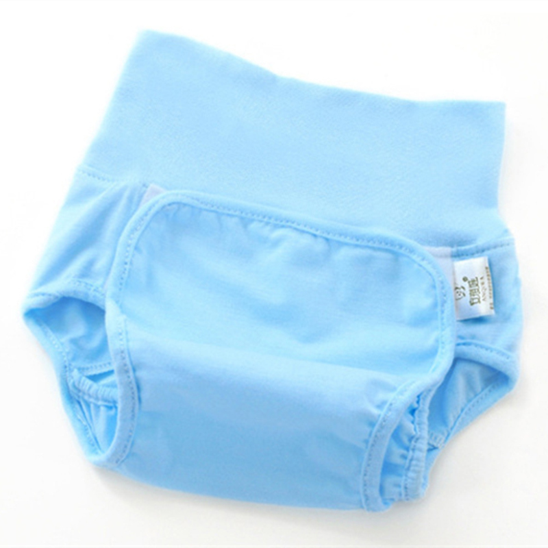 infant urine bamboo fiber cloth diaper pants waist waterproof cloth