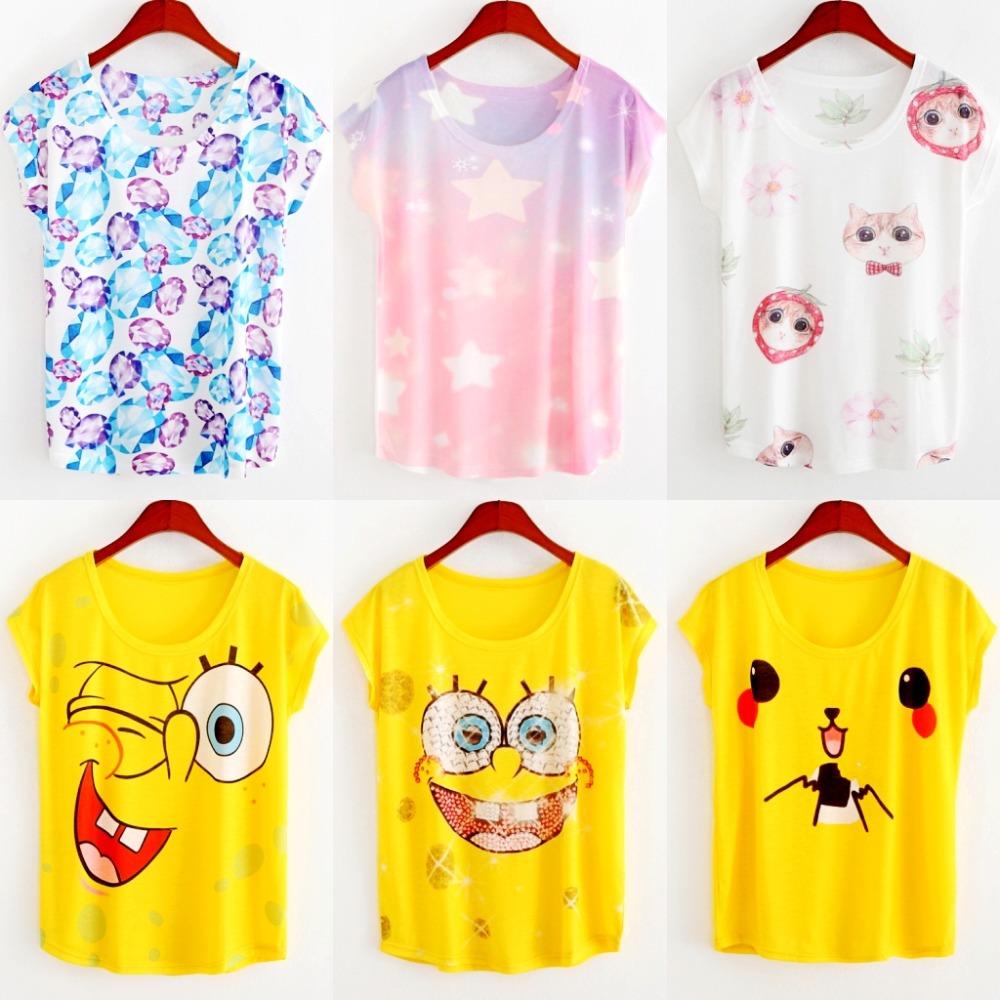 Женская футболка Fashion 2015 harajuku o t tshirt camisetas LGCS женская футболка angela 3d t shrit 2015 o tshirt 34 kl