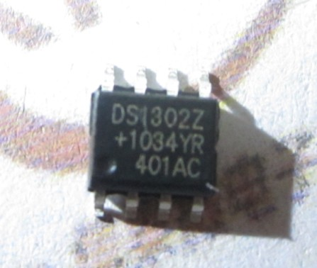 Ds1302z sop-8 dallas chip(China (Mainland))