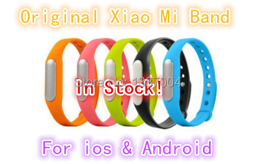 IN STOCK! 100% Original! 2015 Newest Xiaomi MiBand , Smart Xiaomi Mi band Bracelet for Xiaomi MI4 M3 MIUI(China (Mainland))