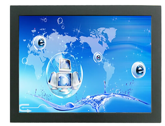 "15 inch open frame lcd monitor with USB interface 4-Wire Resistive 15"" touch screen lcd led monitor(China (Mainland))"