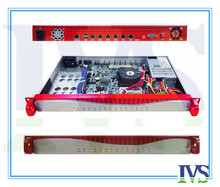 Upscale Al front-panel 1U 6 GbE Lans router / firewall server VOIP system with 2ets Bypass function(China (Mainland))