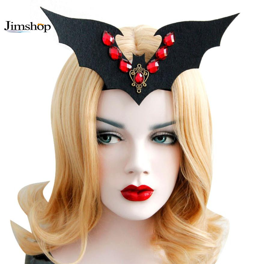 Funny Halloween Vampire Bat With Hair band Headband Halloween Party Fancy Dress Costume Accessory Event Party Supplies Wholesale(China (Mainland))