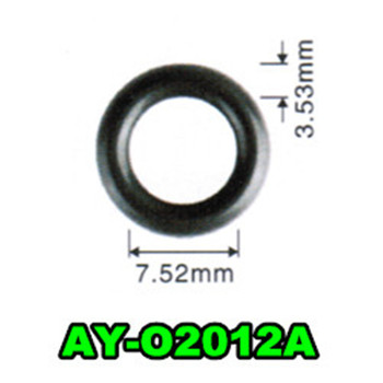 free shipping 500pieces 7.52*3.53mm fuel injector viotn o-ring seals For bosch fuel injector repair kits (AY-O2012A)