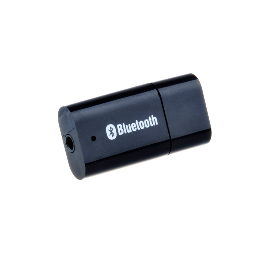 Hot Sale USB wireless Bluetooth 3.5mm Stereo Audio Music Receiver Adapter for Speaker iPhone Mp3 with 3.5mm Audio Cable(China (Mainland))