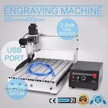 New USB CNC 3040-DQ Router Engraver Engraving Drilling and Milling Machine(China (Mainland))