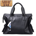 Pabojoe brand 100 Genuine Leather Men Messenger Bag Casual Shoulder Bag cow leather handbag bolsa feminina