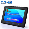2016 New HD TV 7 Inch Digital TV And Analog Television Receiver And TF Card And USB Audio And Video Playback Portable DVB-T2 TV