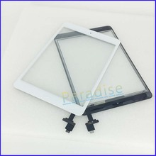 10pcs/lot for iPad Mini Touch Screen Digitizer with IC Connector Assembly Full Set Free Shipping by DHL EMS 255