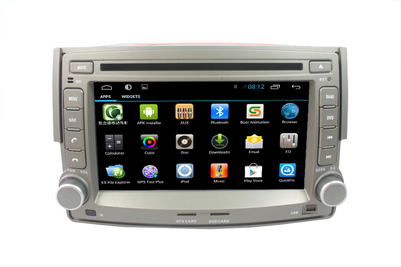 Capacitive Pure Android 4.2.2 Car Radio For Hyundai H-1 H1 Grand