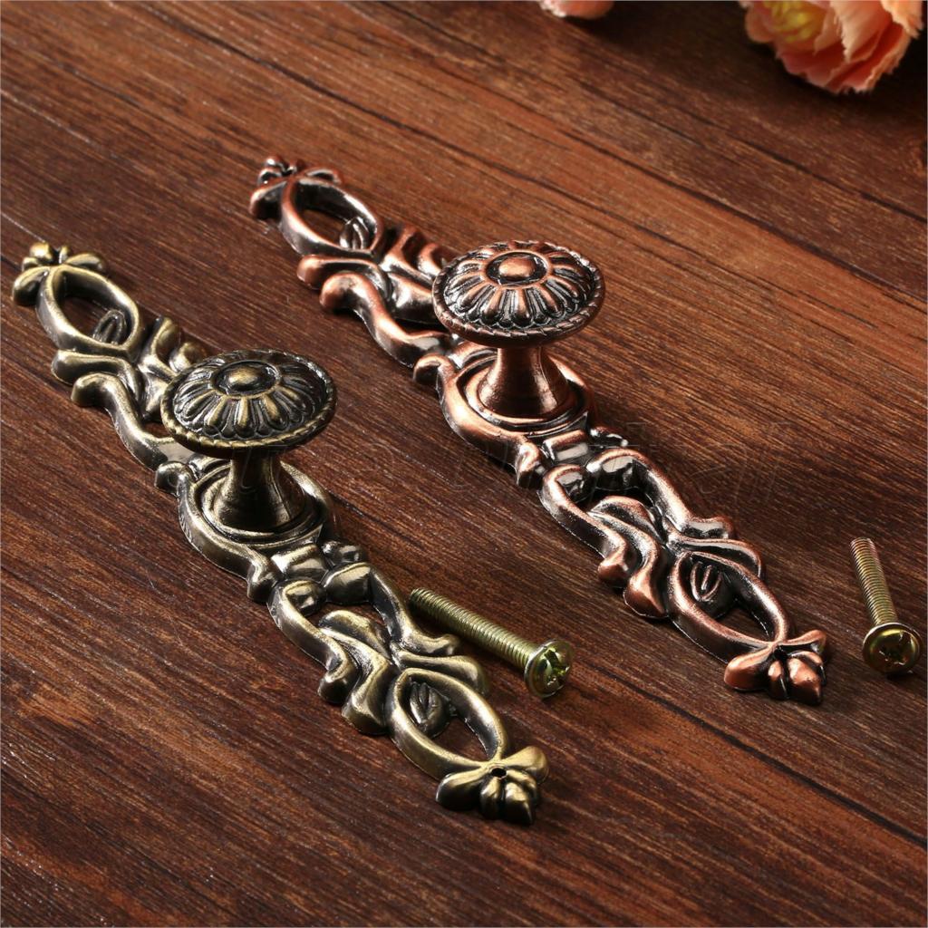 Online kopen wholesale antique cabinet handles oval brass uit ...