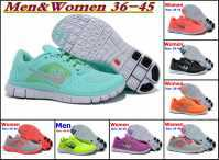 Free shipping 2015 NEW Wholesale Free run 5.0 V2 Running Shoes Athletic Training women&Men discount brand name shoes size 36-46(China (Mainland))