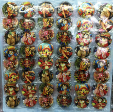 One Piece_A Luffy Zoro 4.5 CM 24/32/40/48x lot set PIN BADGES new Cartoon& animation PIN back BUTTONS PARTY BAG GIFT CLOTH