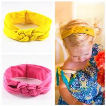 Buy YWHUANSEN 1pcs/lot Cross Handmade Girls Headbands High Elastic Kids Hairbands Children Hair Accessories Bandana Hair Ornaments for $1.46 in AliExpress store