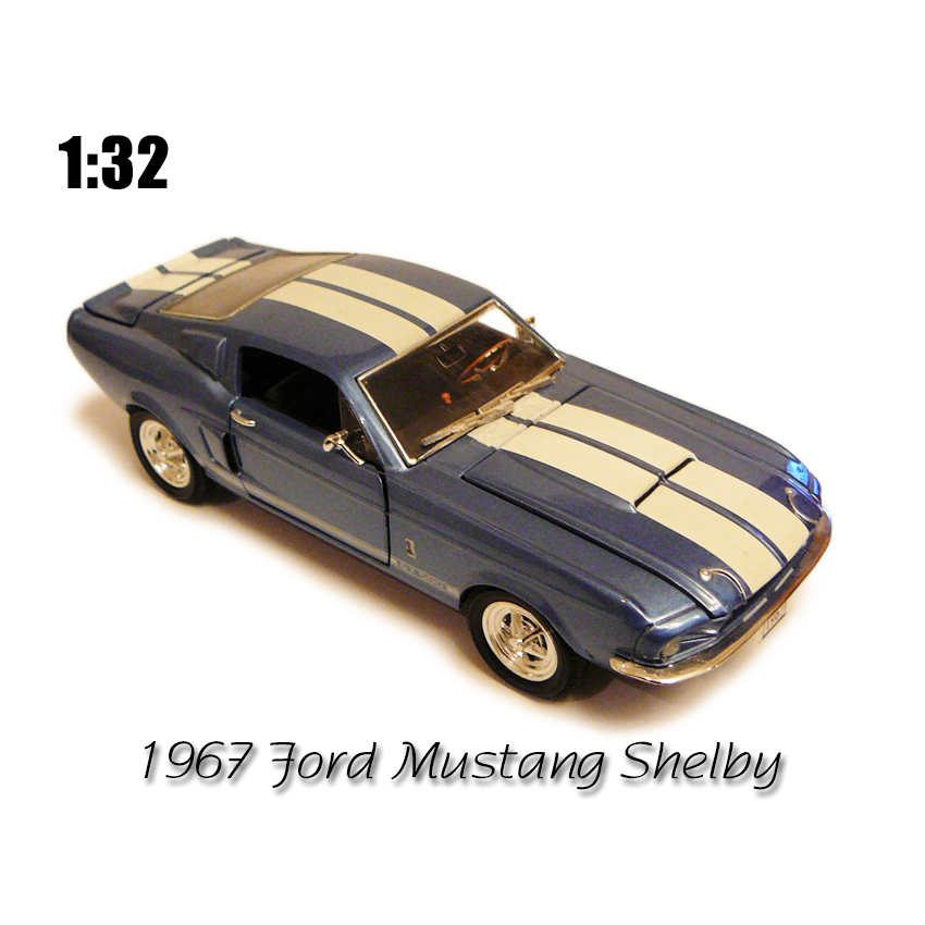 1967 FORD mustang shelby gt-500 muscle car toy car model models toys & hobbies classic toys crafts ONLY RED(China (Mainland))
