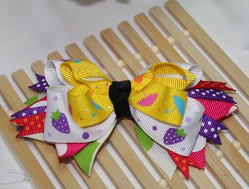 Min Order $9.9, Fashion Ribbon Bowknot Hair Accessories Hair Pin, Free Shipping
