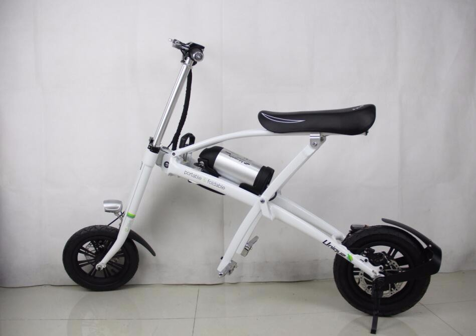 white color body with black color seat
