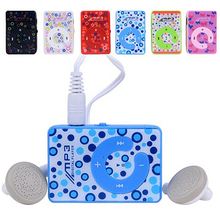 Mini Clip MP3 Music Media Player SD Card Supported 3.5mm + Earphone + USB Cable  771B(China (Mainland))