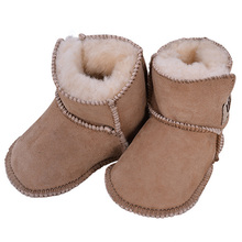 2016 New Baby Boys/girls First Walkers Toddler/Infant Bebe Sapatos Prewalker Wool Boots Soft Sole Baby Shoes YY0533(China (Mainland))