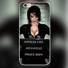 Adam Hughes Catwoman Design black skin case cover cell mobile phone cases for Apple iphone 4 4s 5 5c 5s 6 6s 6plus hard shell