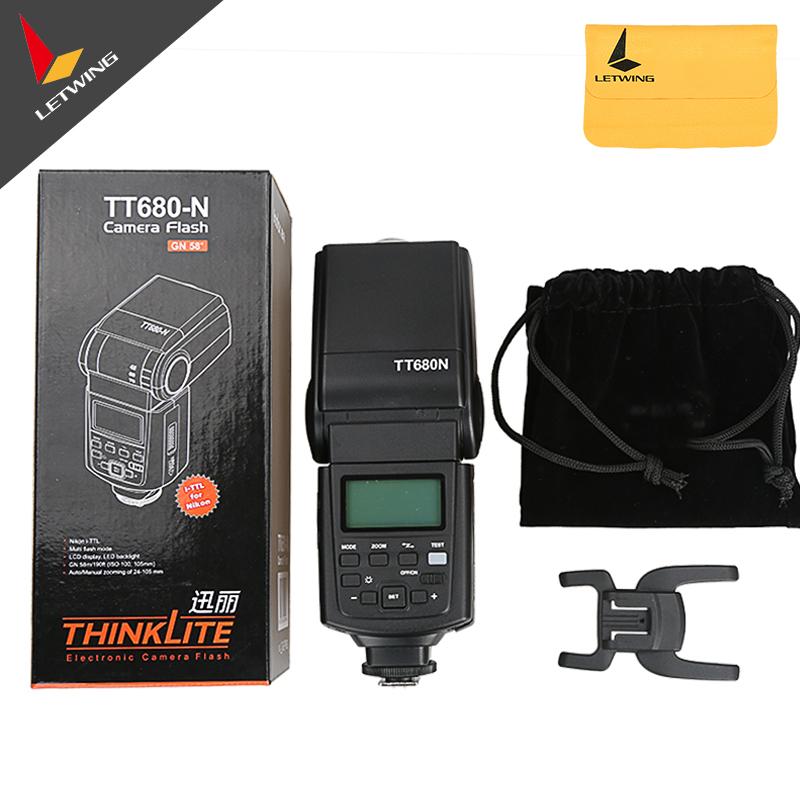 Godox TT680N Speedlite I-TTL II Camera Flash Speedlite GN58 for Nikon D80 D90 D800 D700 D7100 D7000 D5200 D5100 D5000 D300 etc<br><br>Aliexpress