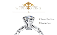 New 925 sterling silver jewelry classic trendy wedding love promise witness prong setting fashion women ring