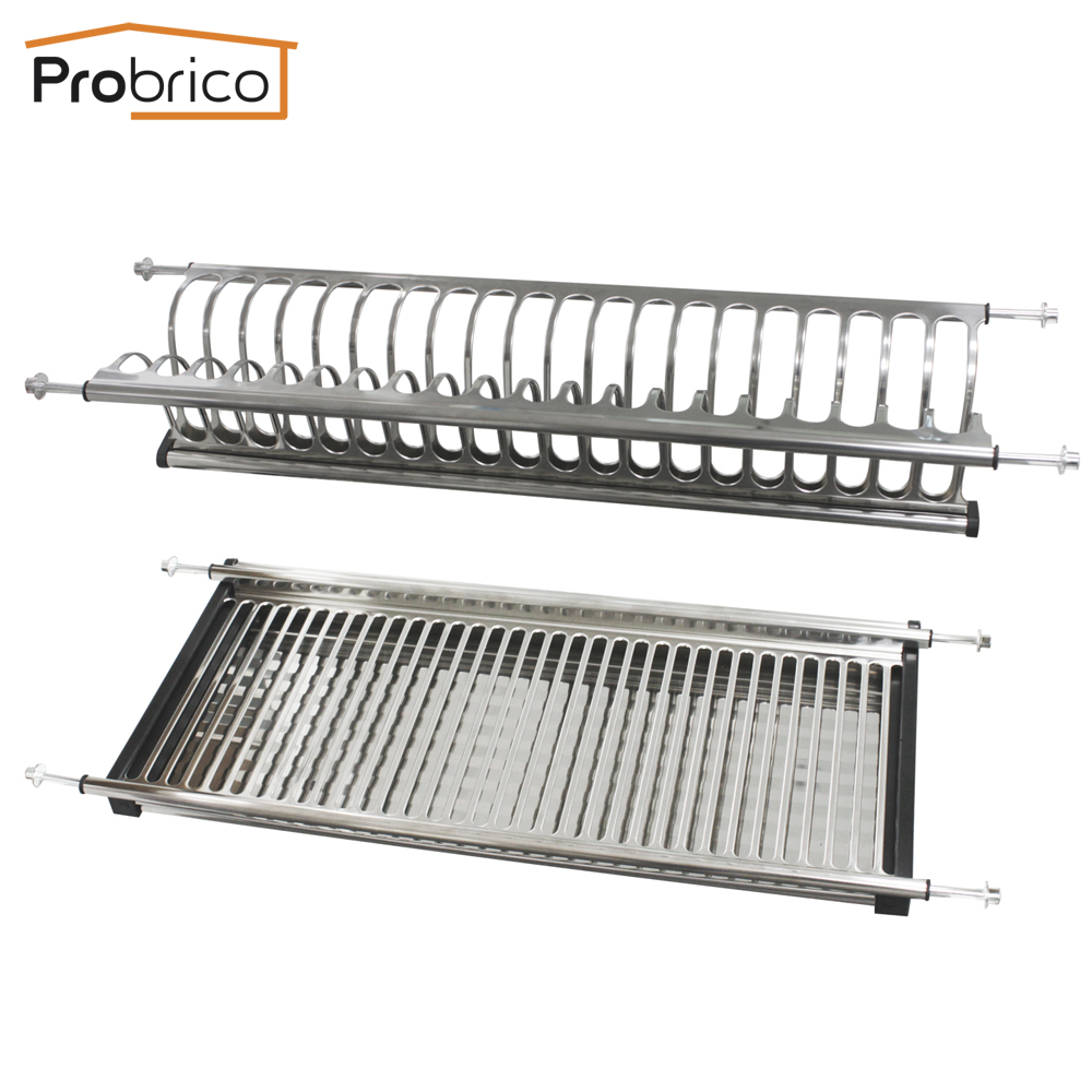 Stainless Steel Dish Drying Rack For Width 665mm Kitchen