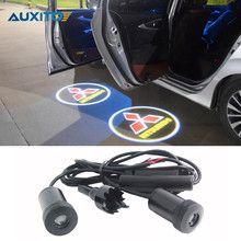 Buy LED Car Door Logo Projector Light Mitsubishi Asx Lancer 10 9 Outlander Pajero Sport L200 Colt Carisma Galant Eclipse Montero for $7.80 in AliExpress store