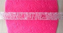 Beautiful Design Embossing Rolling Pins Sugar Craft Tools Fondant Cake Decoration   A161(China (Mainland))