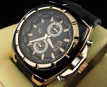 2016 Luxury v6 brand silicone casual watch men fashion military sports quartz wrsit watch relogio masculino