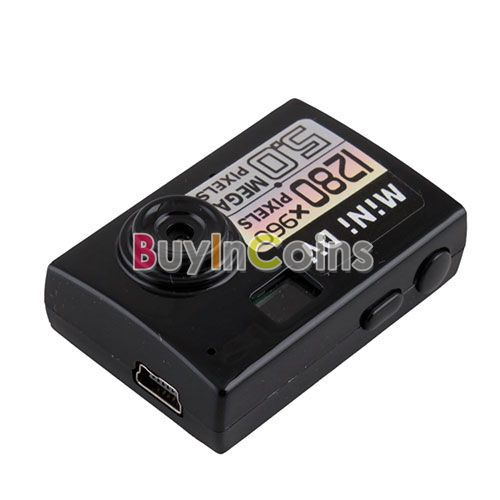 Smallest Mini 5MP DV HD Digital Cameras Video Camcorder Recorder Webcam DVR US AS #30236(China (Mainland))