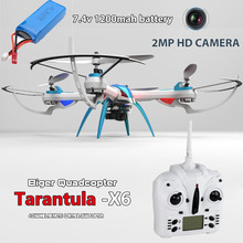 Yizhan X6 100% Plastic RC Helicopter Quadcopter Cameria With 2MP HD Camera Drone 1200mah Battery China Stock(China (Mainland))