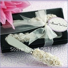 Free Shipping to Europe Rose Spreader Wedding Gifts 15PCS/LOT wholesale and retail Best for Wedding Favors(China (Mainland))