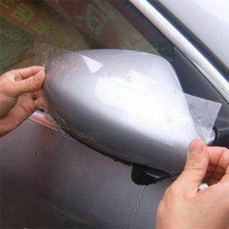 10/15/20CM x5M Rhino Skin Sticker Automotive Interior Door Panel Protective Paint Protection Film PVC Vinyl Transparence Film(China (Mainland))