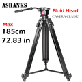 ASHANKS A750 1 85M Aluminum Foldable Professional Photographic Tripod Fluid head for Digital SLR DSLR Camera