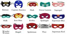 52 style Superman Batman Spiderman  SUPERHERO MASK Hulk Thor Iron Man Captain America Wolverine halloween costume for kids