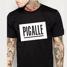 High quality PIGALLE T Shirts Men Short Sleeve O Neck Man T-Shirt Euro Size Mens Tees Tops Shirt Free Shipping