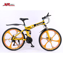 Folding mountain bicycles bicicleta road bike Altruism xirui X9 mountain bicycle Aluminum alloy 24 speed folding bike 26 inch(China (Mainland))